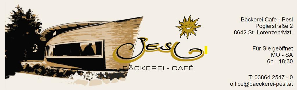 Bäckerei – Cafe Pesl