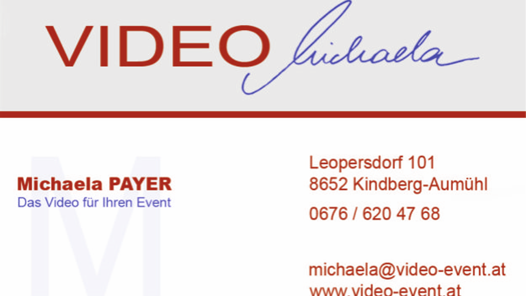Video Michaela